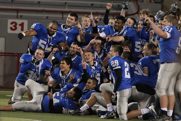 2012 MILLARD NORTH FOOTBALL SEASON